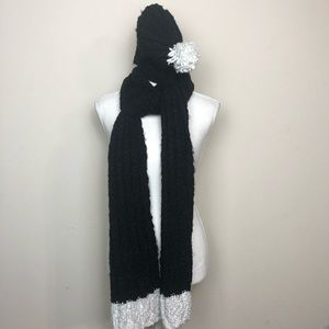 Hollister Beanie and Scarf Set.